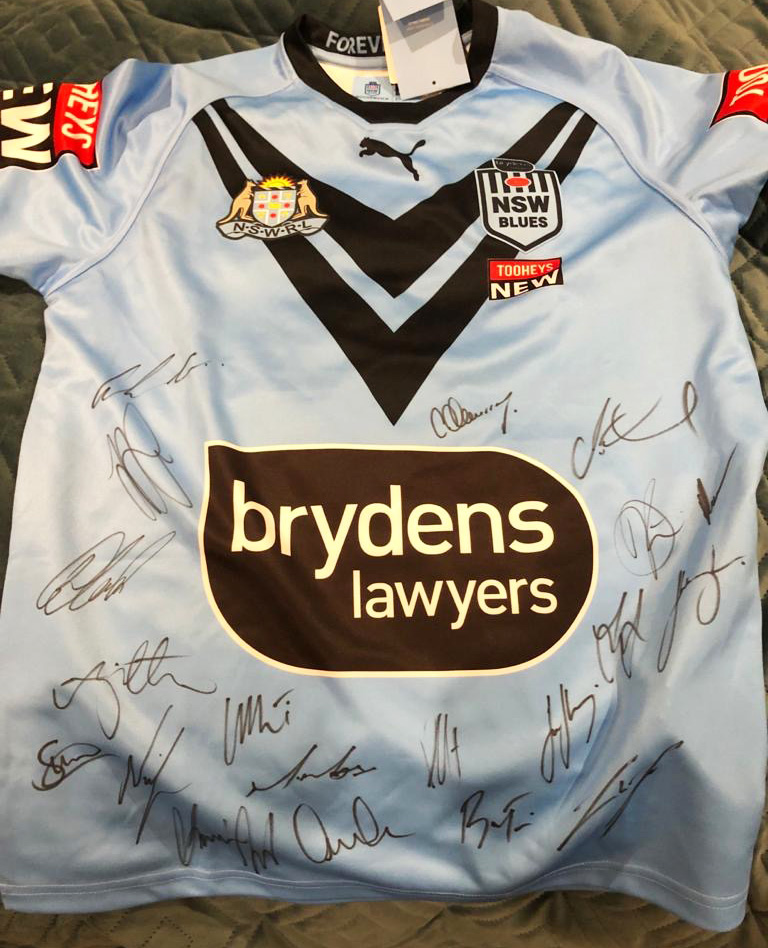 2021 Signed NSW State of Origin Jersey